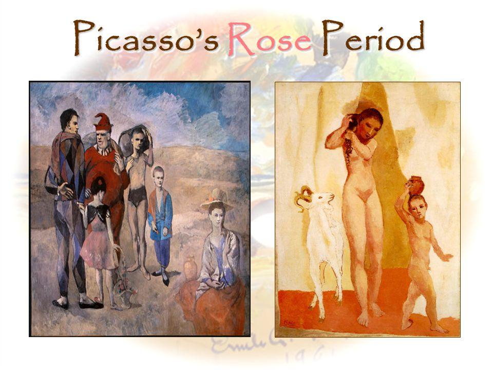 pablo picasso rose period