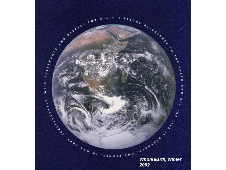 Whole Earth, Winter 2002