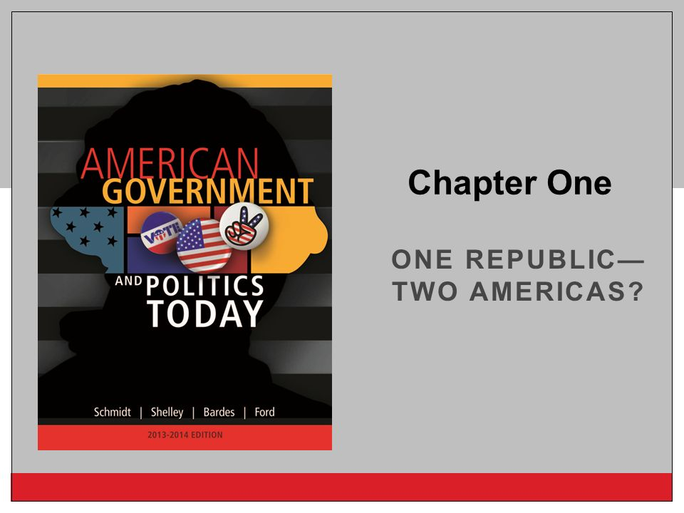 One Republic—Two Americas