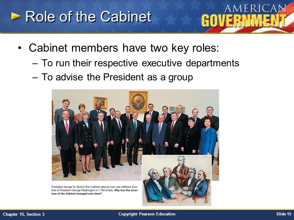 what is the role of cabinet members members of the president s cabinet who is in the 28313