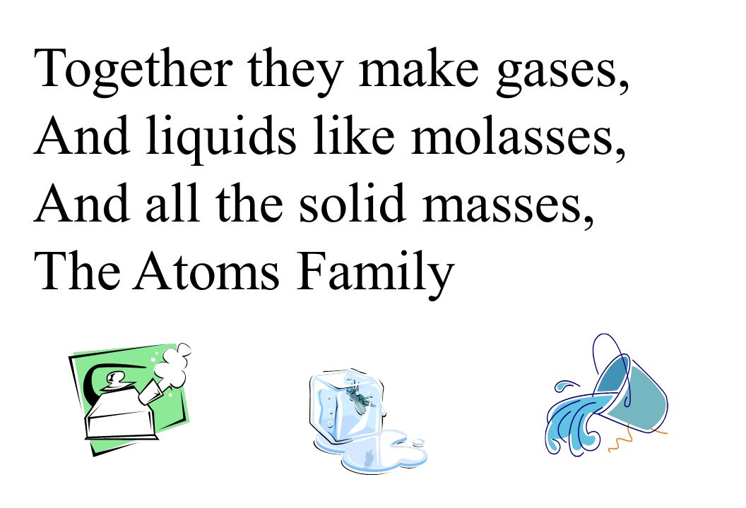 Together they make gases,