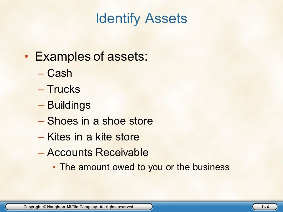 Owner's Equity Examples &amp