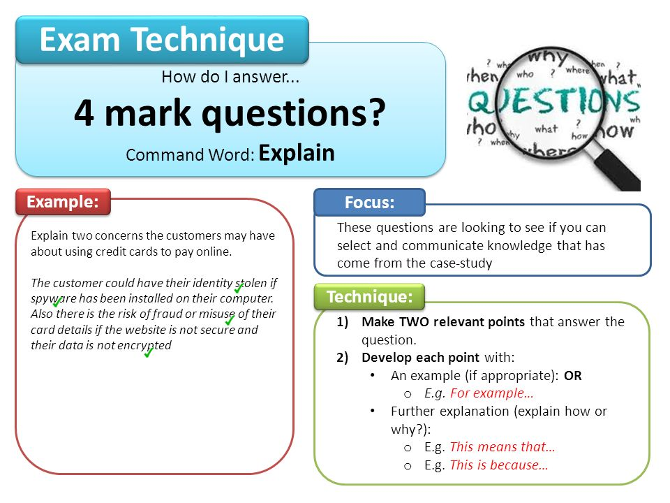 Ict Exam Techniques This Is A Guide On How To Achieve The Maximum