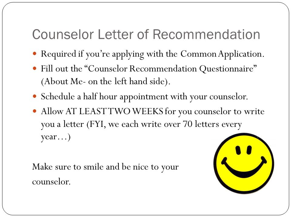 The college process and naviance ppt download counselor letter of recommendation spiritdancerdesigns Choice Image