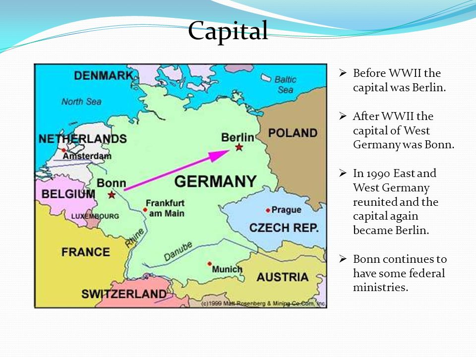 Capital Of Germany Map.Top 10 Punto Medio Noticias Capital Of Germany Bonn Or Berlin