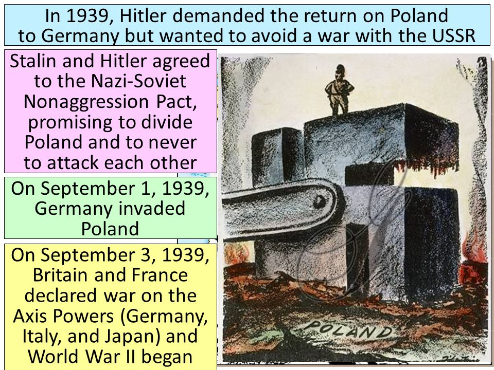 On September 1, 1939, Germany invaded Poland