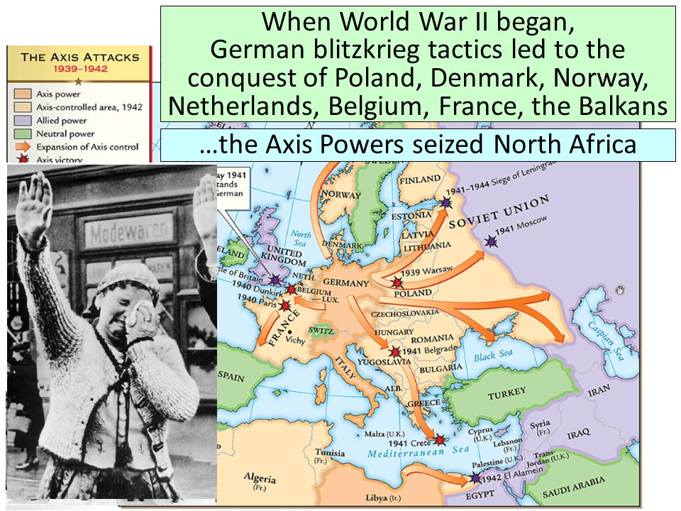 …the Axis Powers seized North Africa