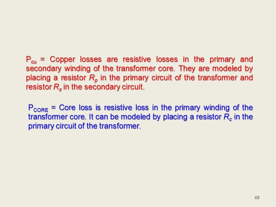copper loss in transformer pdf