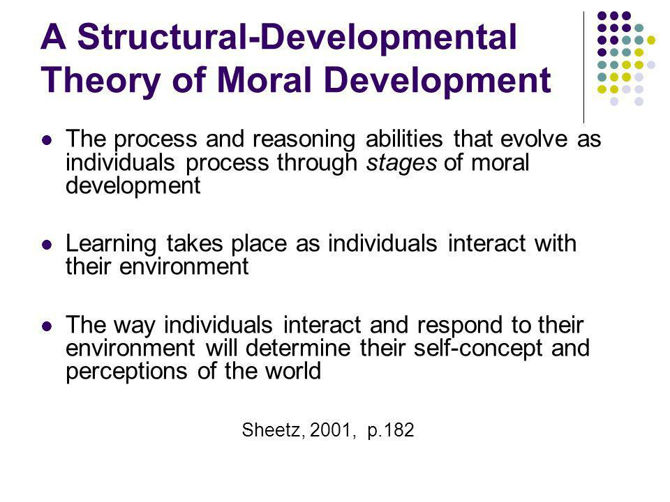 A Structural-Developmental Theory of Moral Development
