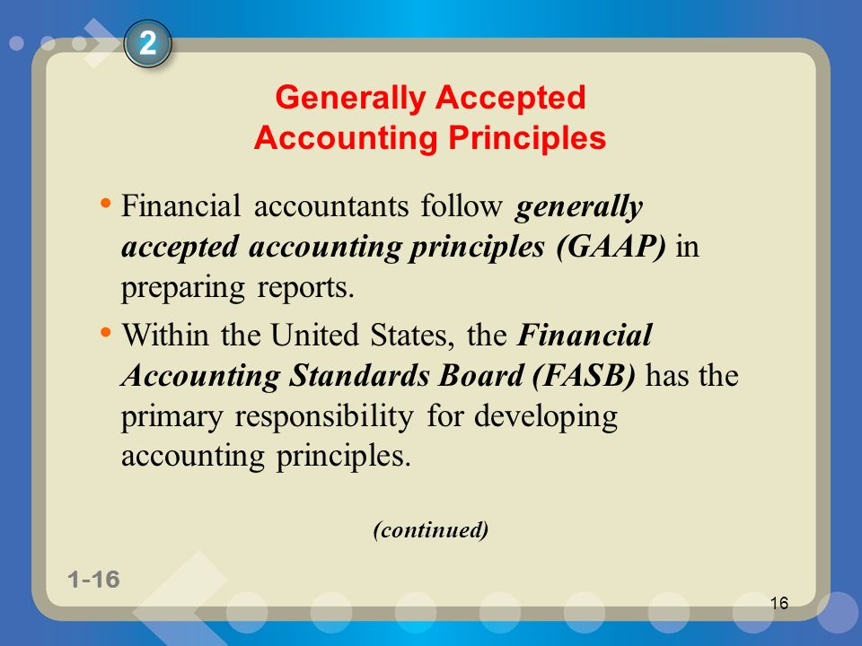 Principles of financial accounting 11e ppt video online download generally accepted accounting principles fandeluxe Images