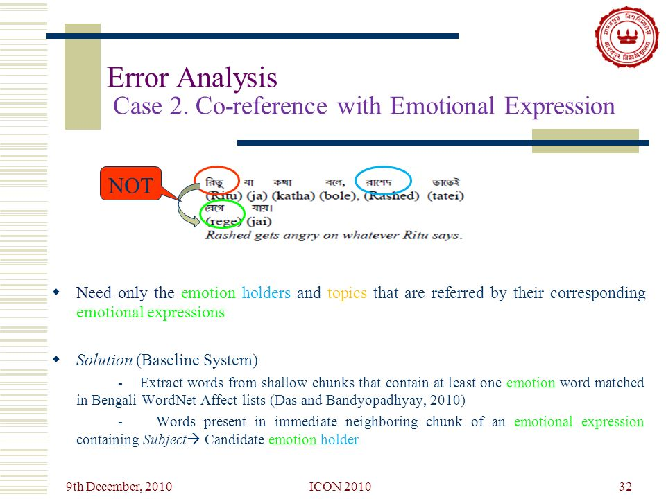 Identifying Emotion Holder and Topic from Bengali Emotional