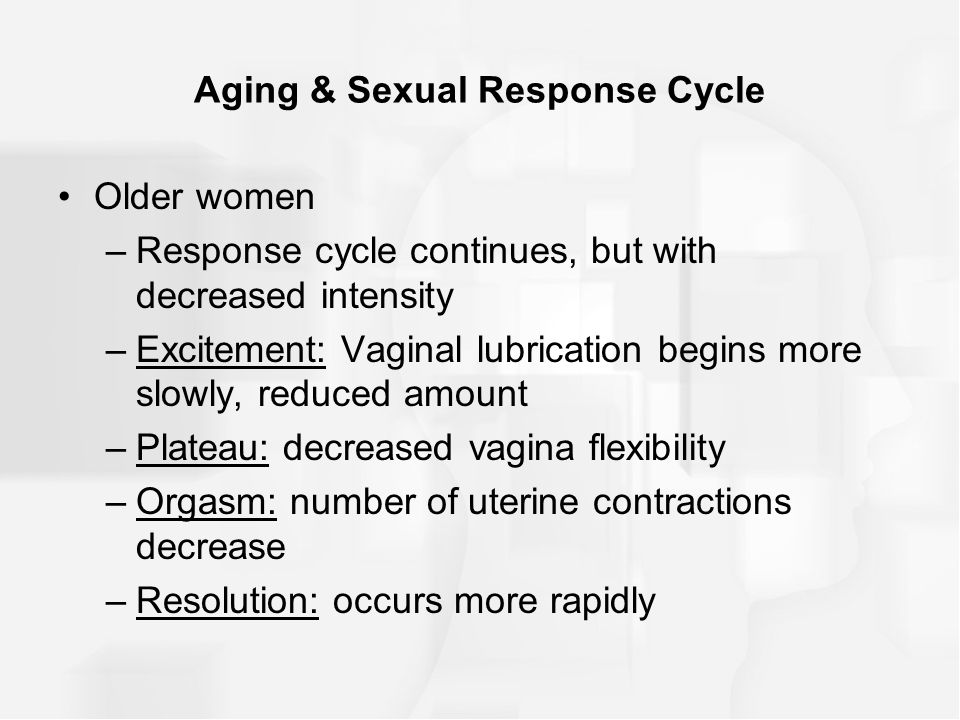 Masters and johnsons sexual response cycle shortest phase