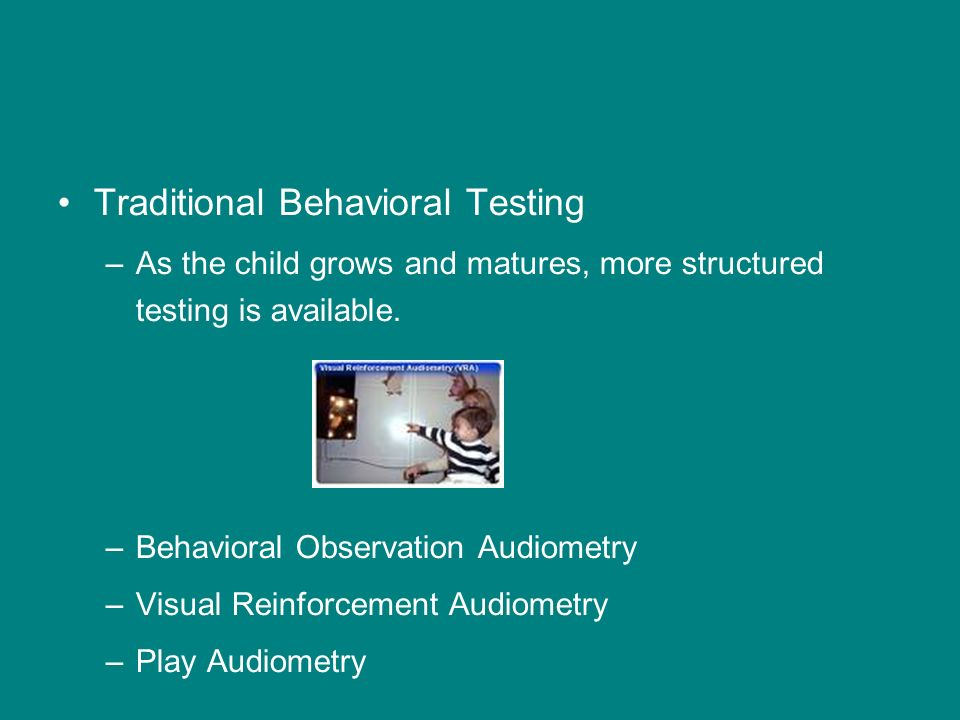 Traditional Behavioral Testing