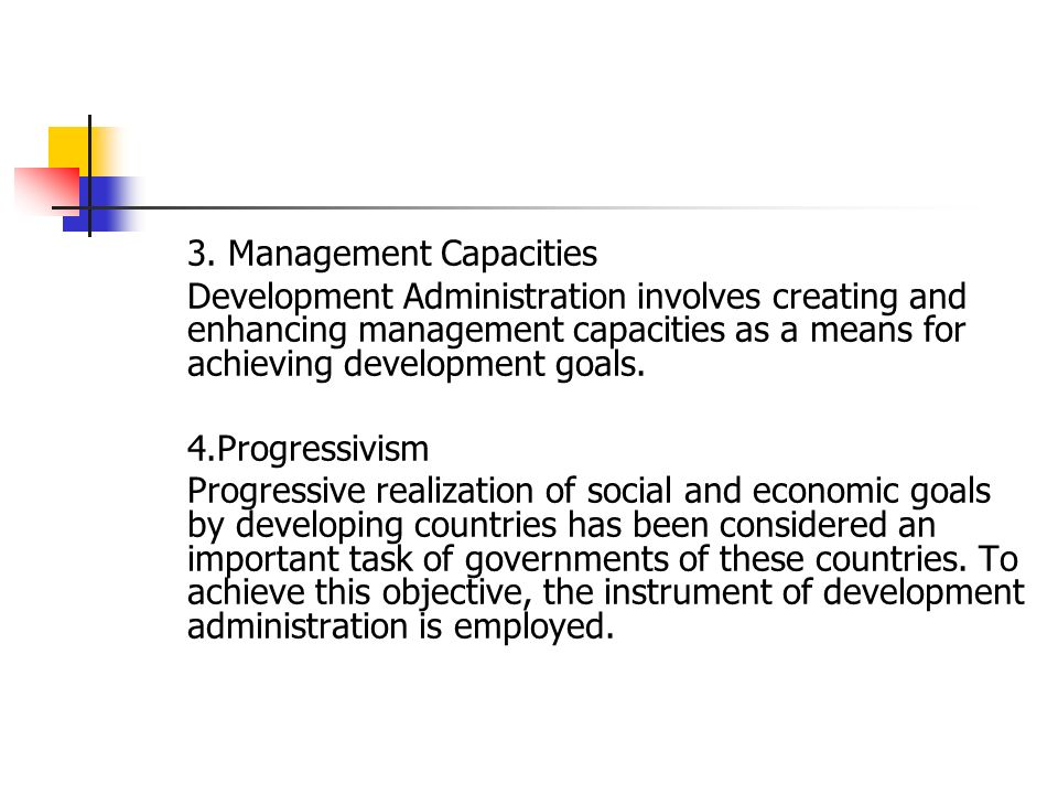 importance of development administration in developing countries
