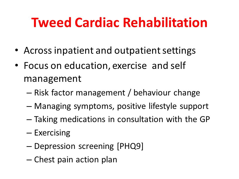 Tweed Cardiac Rehabilitation