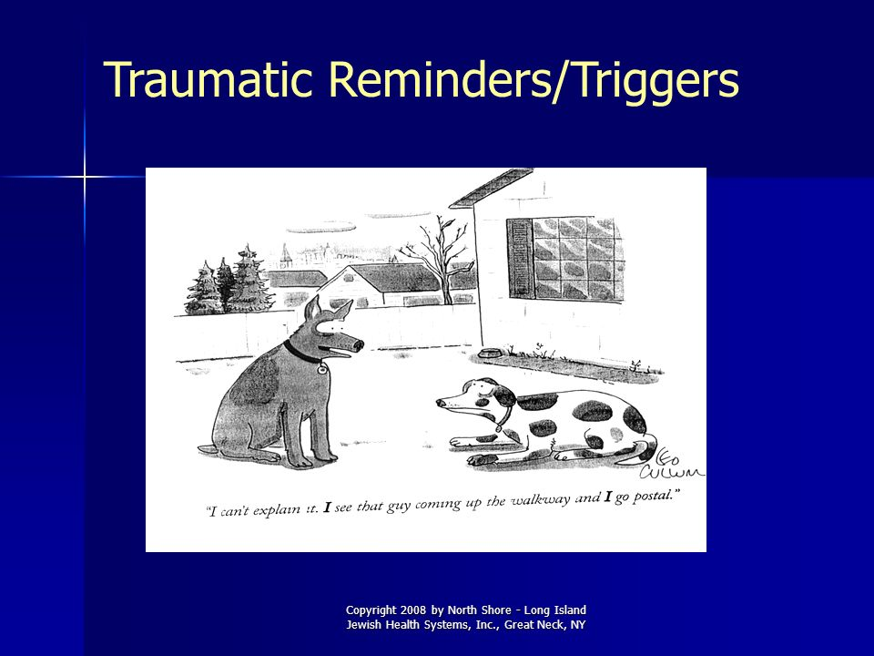 Traumatic Reminders/Triggers
