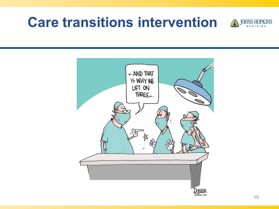 Improving Transitions Of Care Handoffs And Coordination