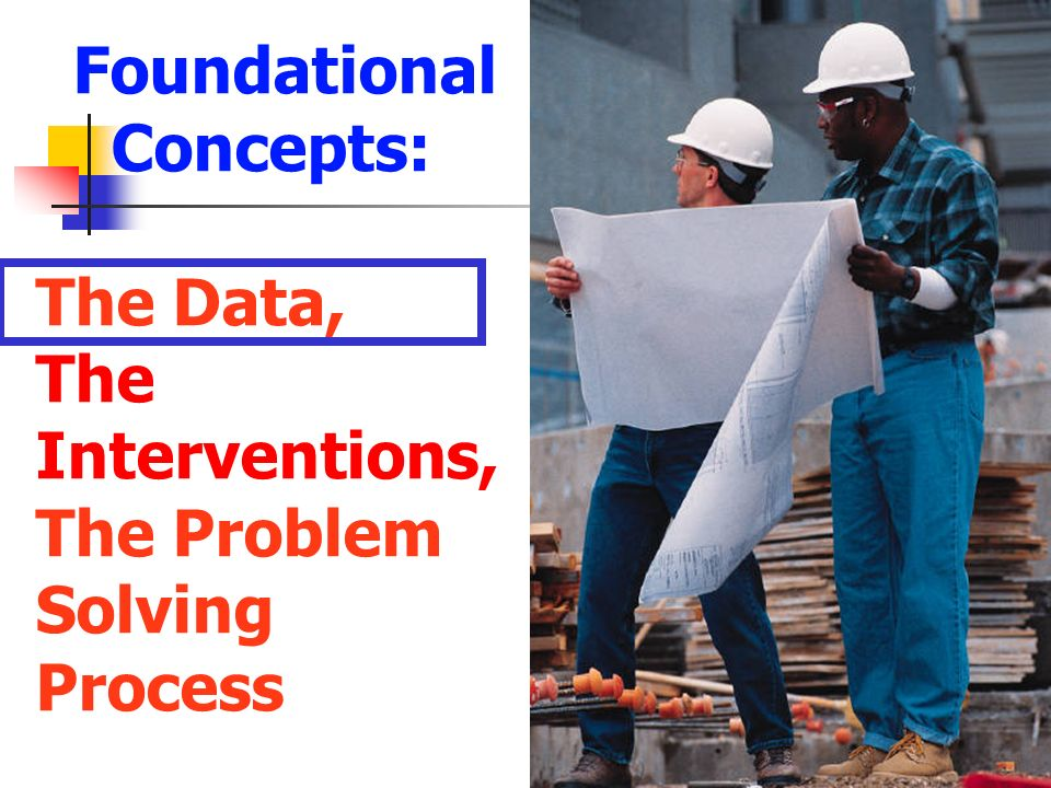 Foundational Concepts: The Data, The Interventions, The Problem Solving Process