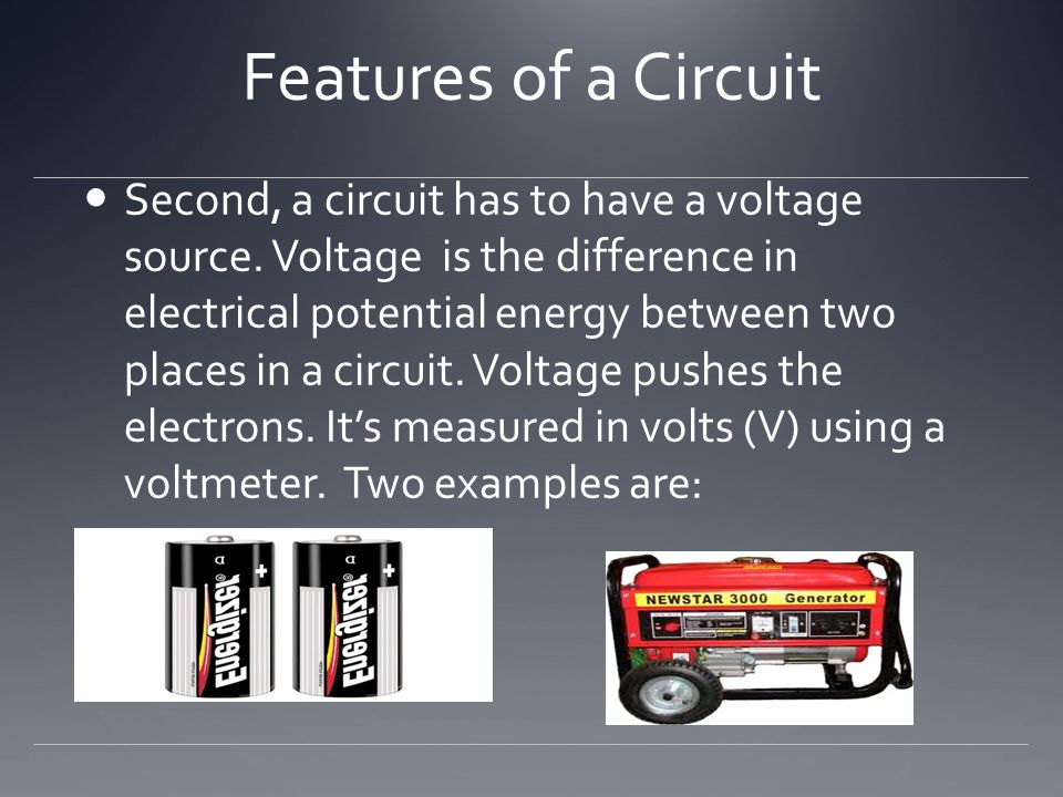 Features of a Circuit