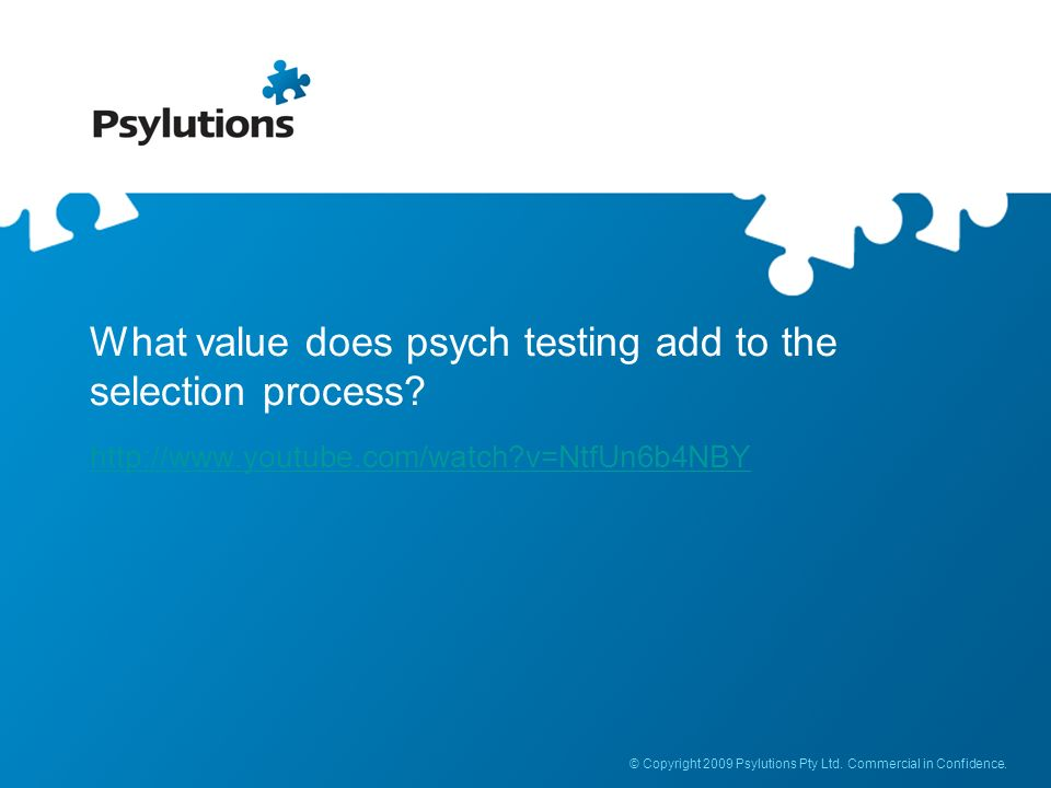 What value does psych testing add to the selection process