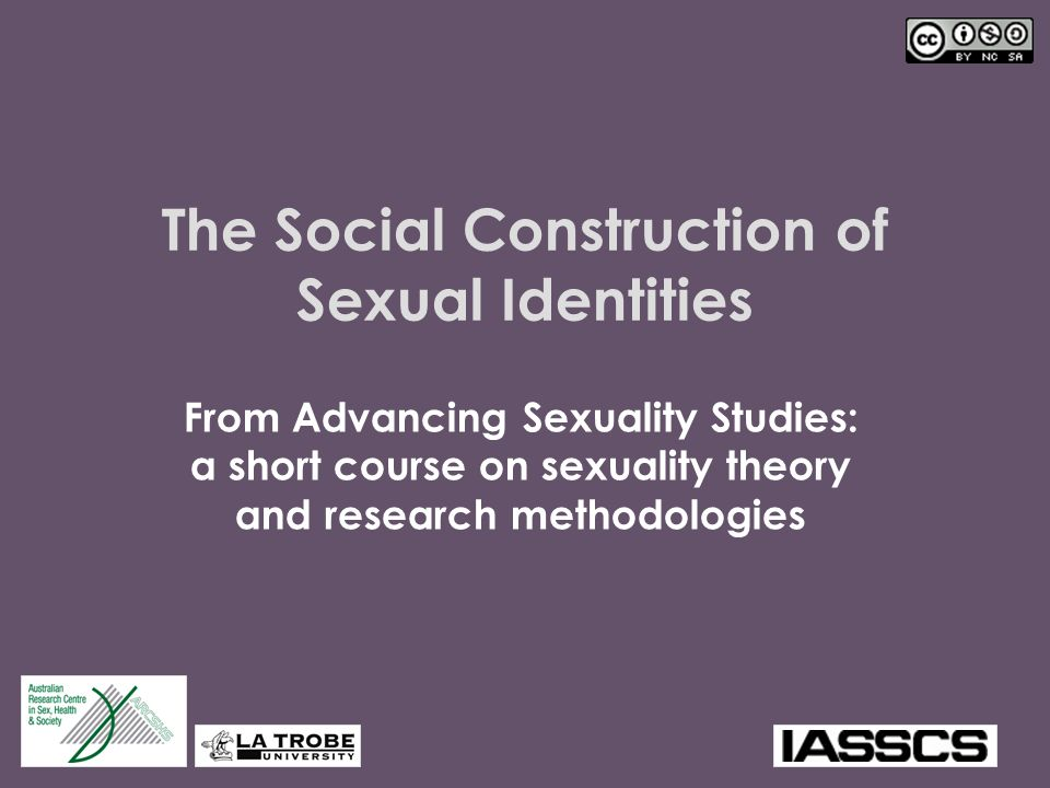 Social constructionist theory of homosexuality statistics