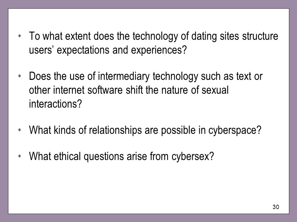 What kinds of relationships are possible in cyberspace