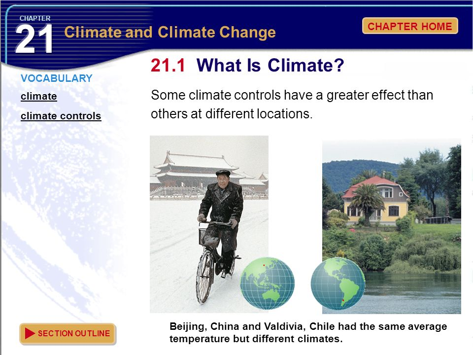 What Is Climate Climate and Climate Change