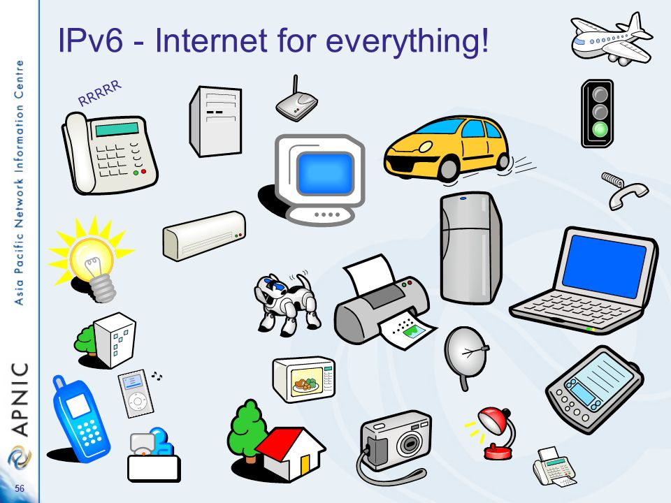 IPv6 - Internet for everything!