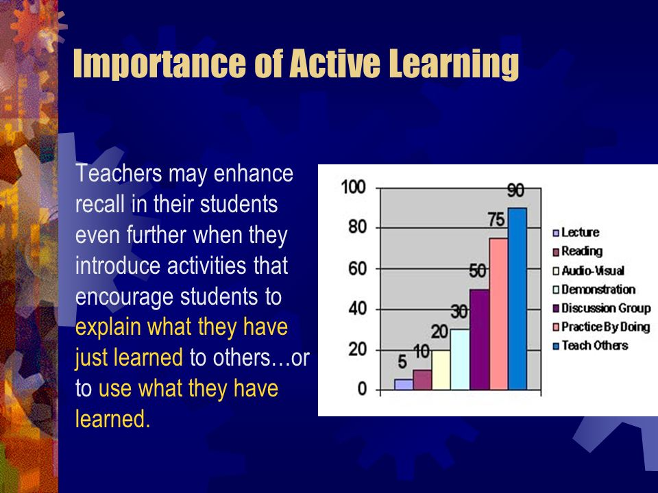 Importance of Active Learning