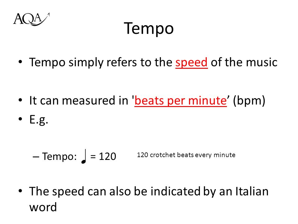 Area of Study 01: Rhythm and Metre - ppt video online download