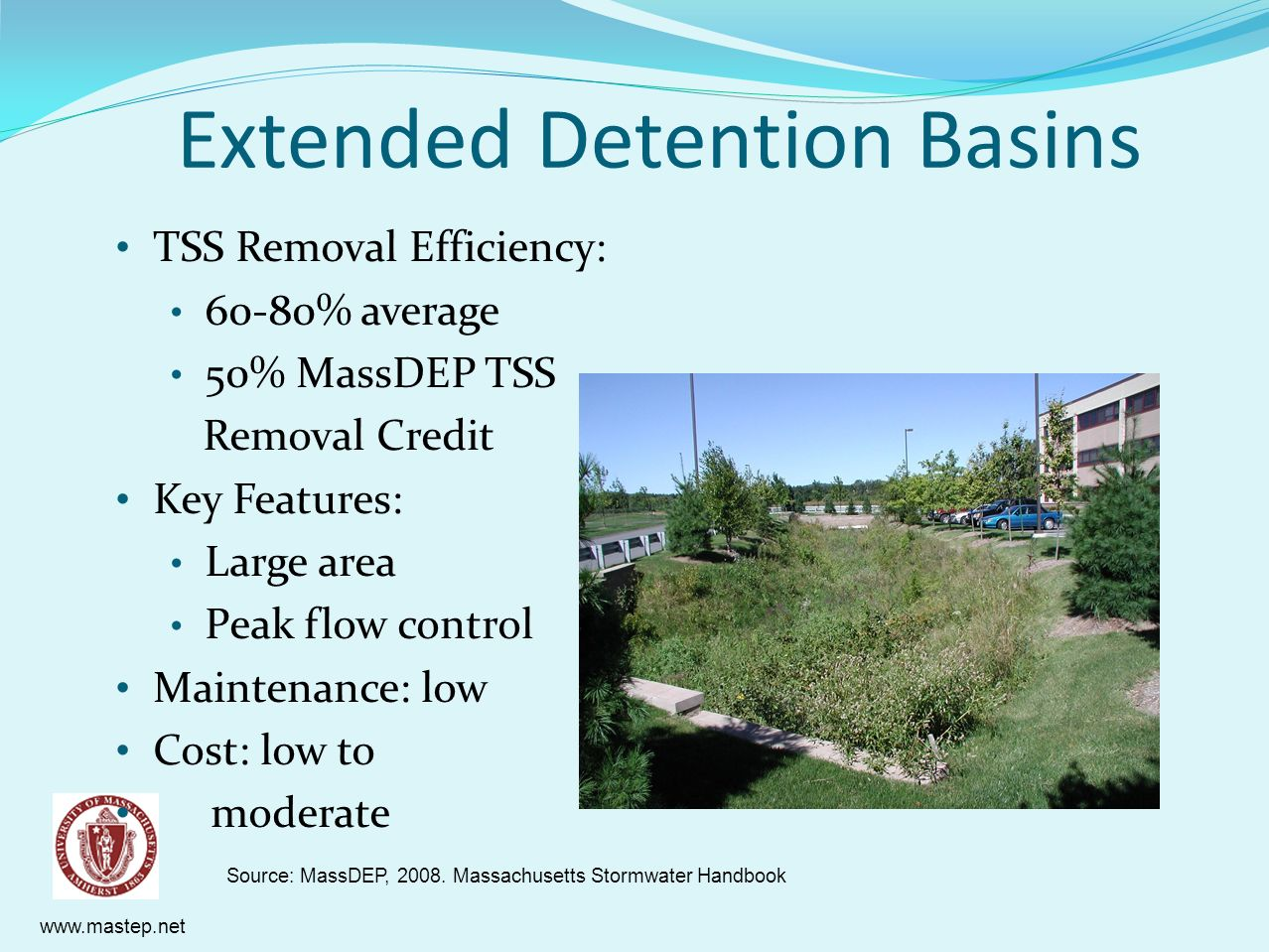 Extended Detention Basins