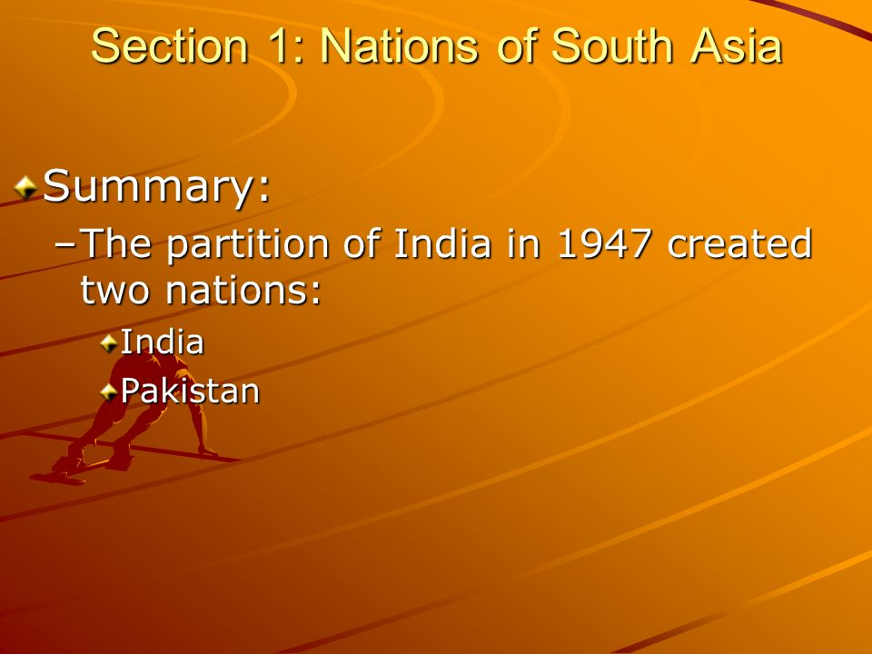 Chapter 35: South Asia and the Middle East