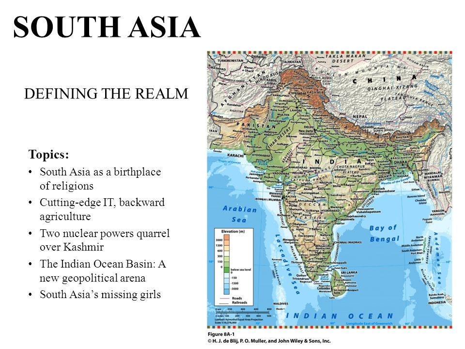 South asian realm