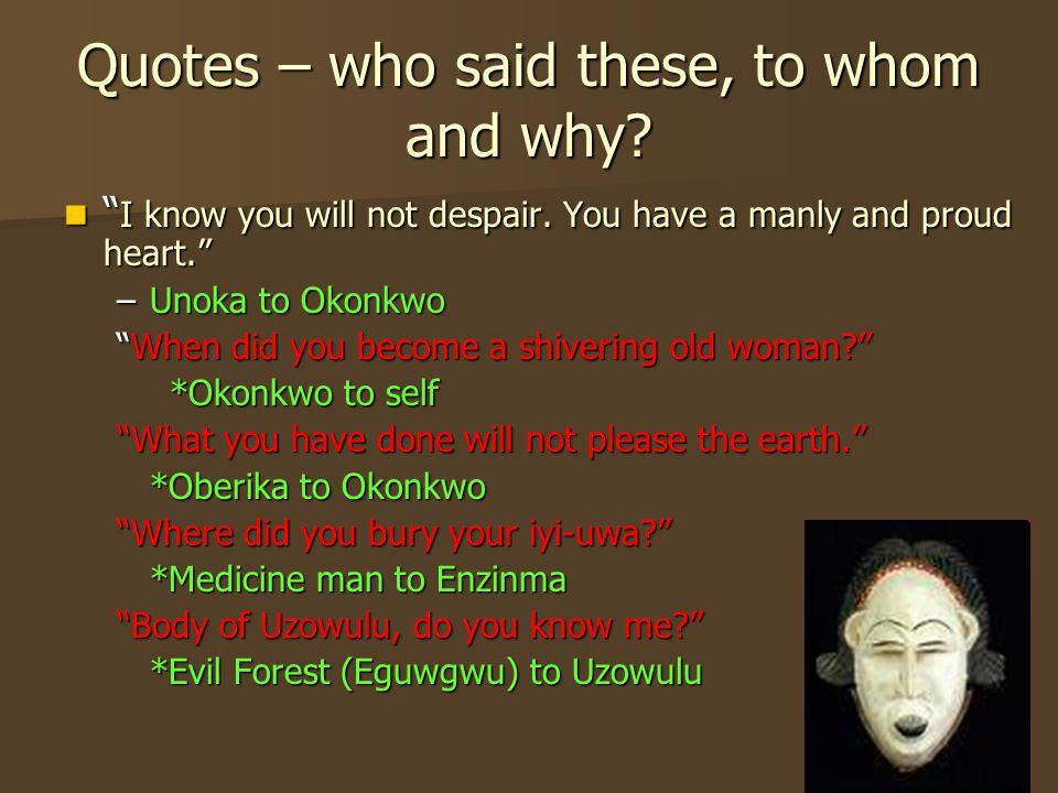nwoye feminine quotes