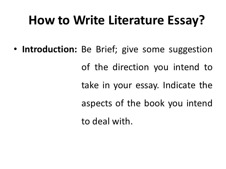 Lecture  Literature Essay  Ppt Video Online Download How To Write Literature Essay Mental Health Essay also Do My Cad Assignment  Hiring A Freelance Writer