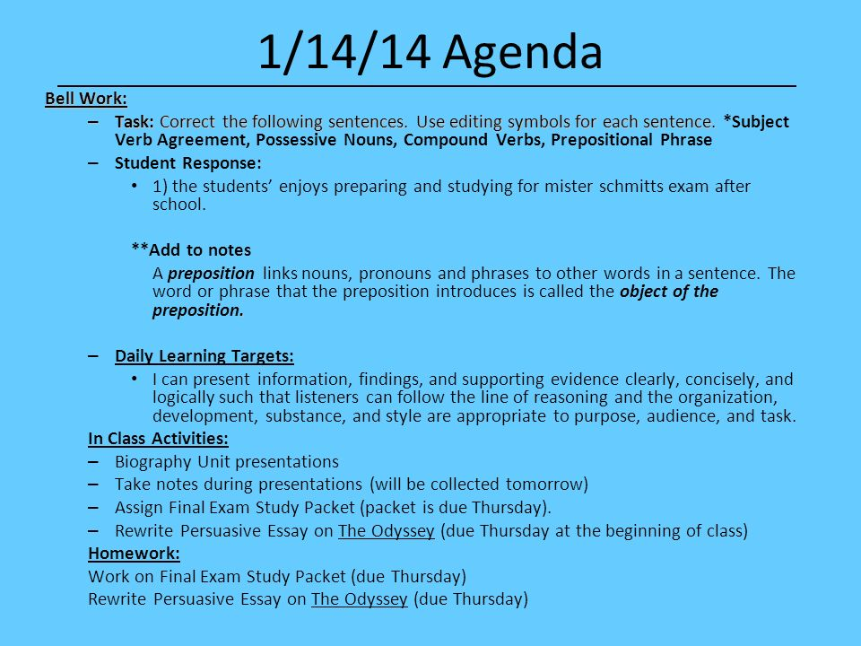 other words for agenda