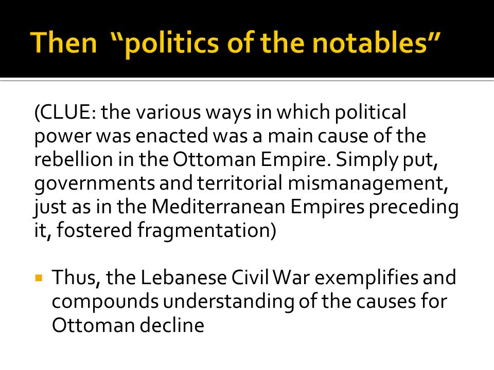 what caused the lebanese civil war