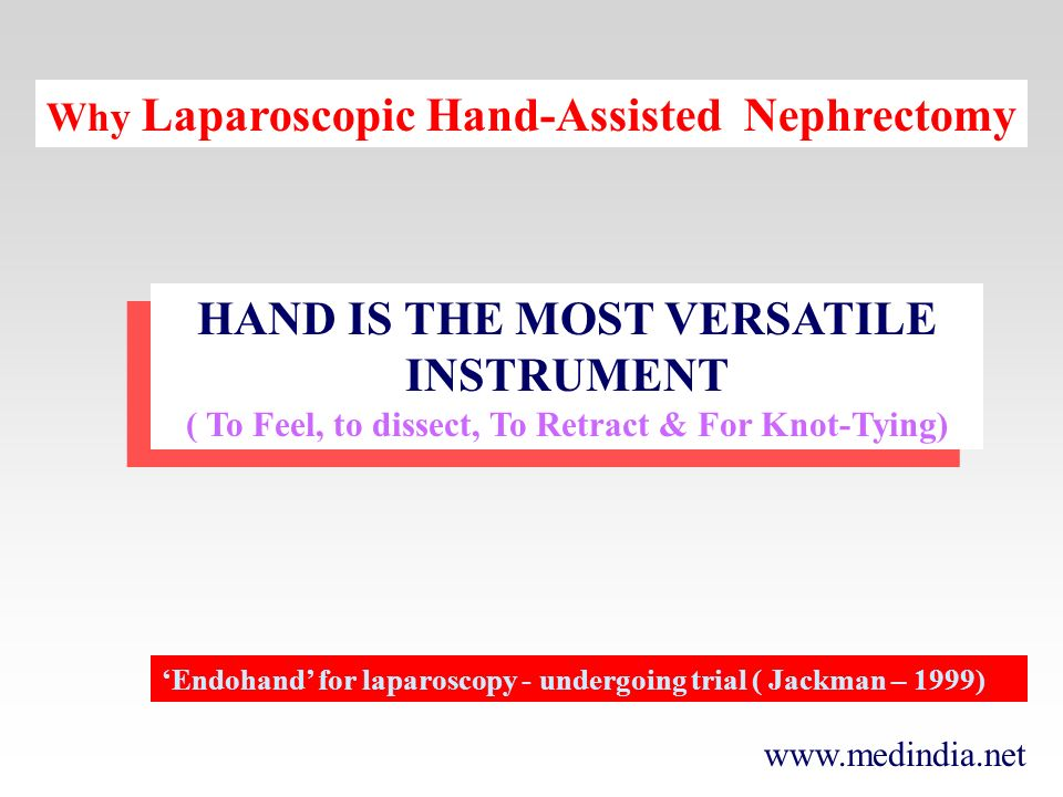 HAND IS THE MOST VERSATILE INSTRUMENT