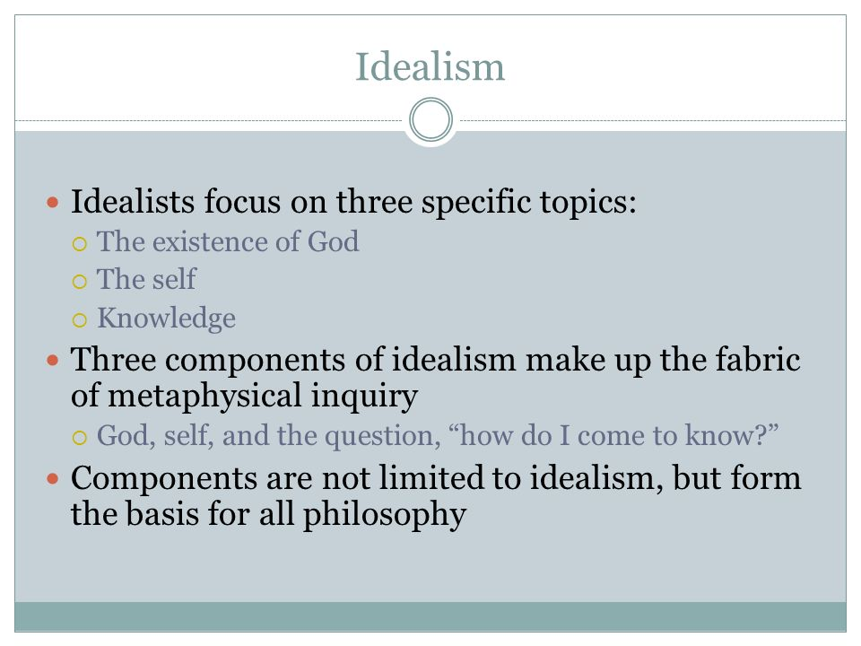 idealism and physical education