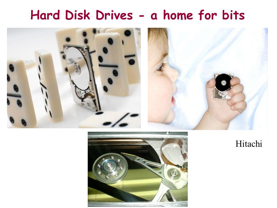 Hard Disk Drives - a home for bits
