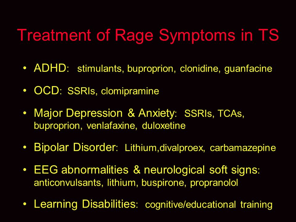 Comorbid Disorders in Tourette Syndrome Cathy L  Budman, MD