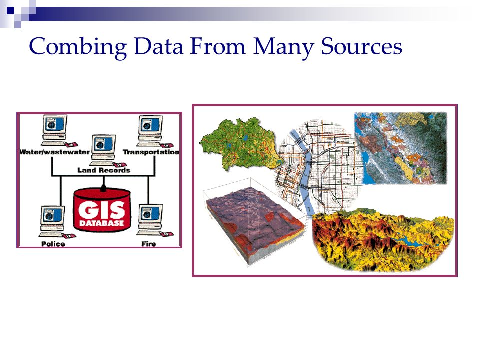 Combing Data From Many Sources