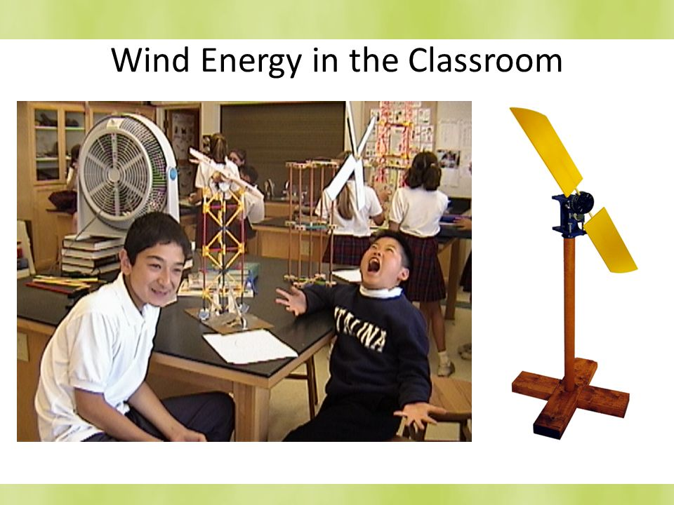 Wind Energy in the Classroom