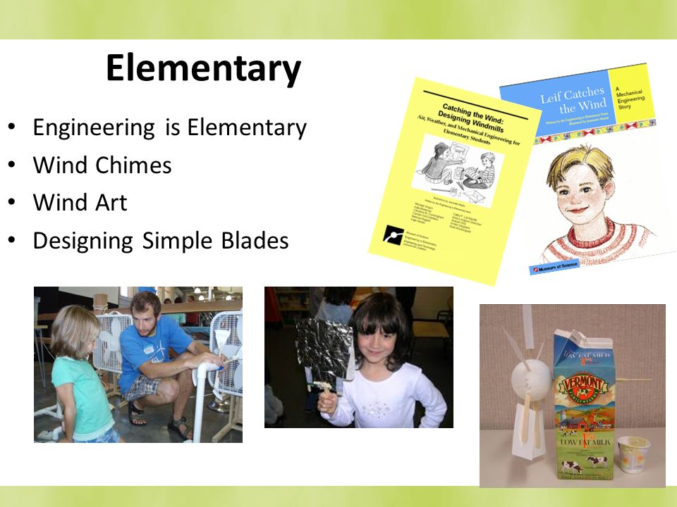 Elementary Engineering is Elementary Wind Chimes Wind Art