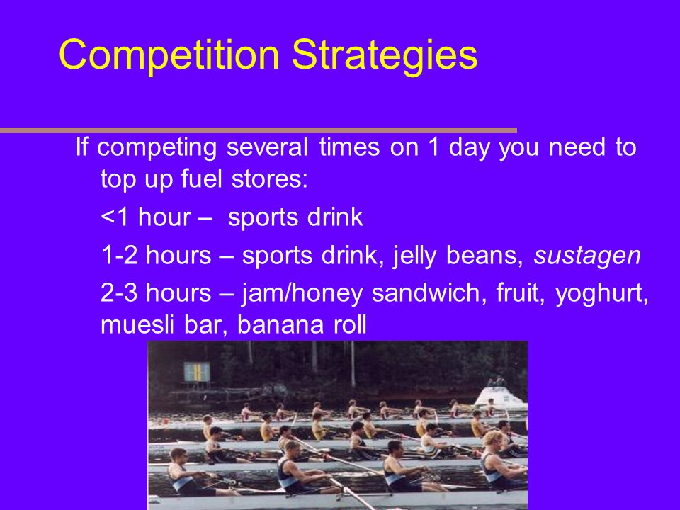 Competition Strategies