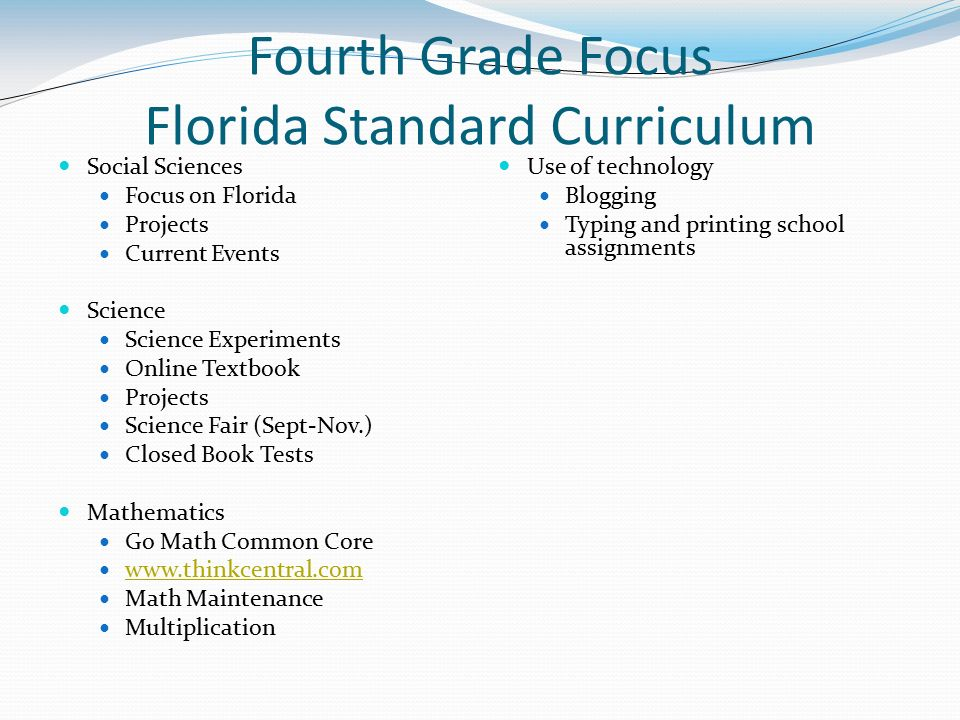 Welcome To Fourth Grade Math And Science Ppt Video Online Download