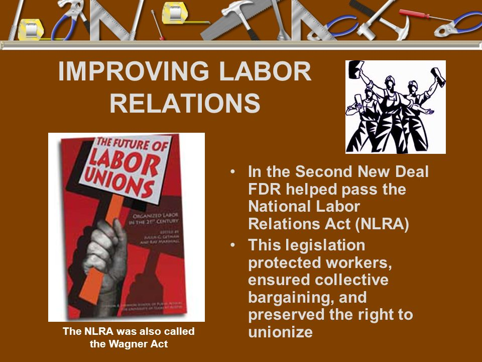IMPROVING LABOR RELATIONS