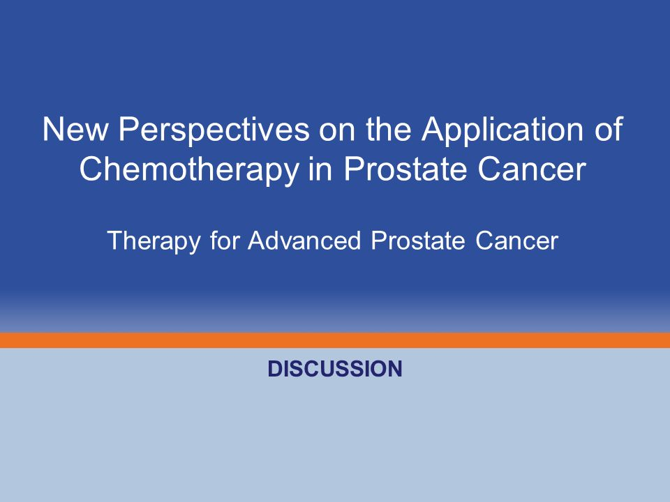 New Perspectives on the Application of Chemotherapy in Prostate Cancer Therapy for Advanced Prostate Cancer