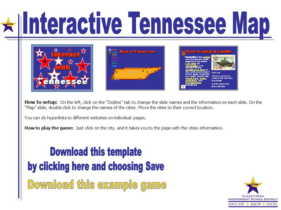 Interactive Tennessee Map