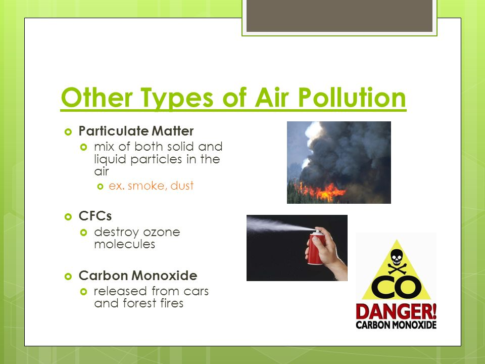 Other Types of Air Pollution